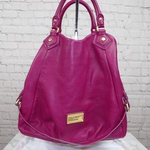 Marc by Marc Jacobs Large Fran Q leather tote